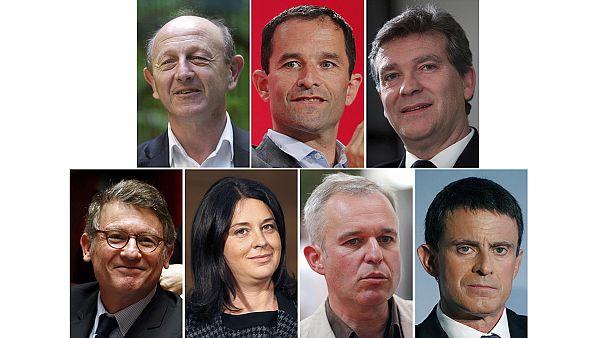 کاندیداهای جناح چپ فرانسه برای شرکت در انتخابات مقدماتی آماده می شوند