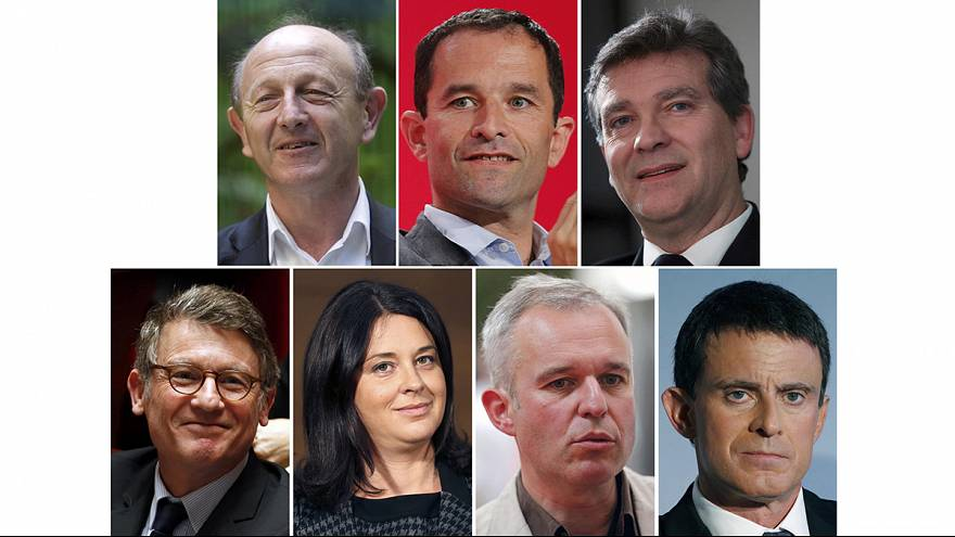 Seven candidates selected to run for French left presidential bid