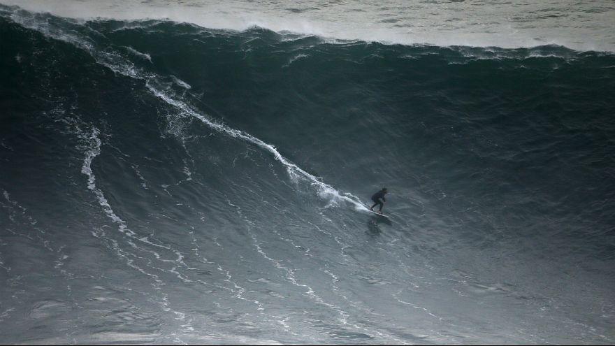 A onda de McNamara (23m) versus a nova maior onda registada (19m): O que as difere?