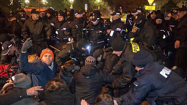 Einschränkung der Pressefreiheit: Proteste gegen Polens Regierung