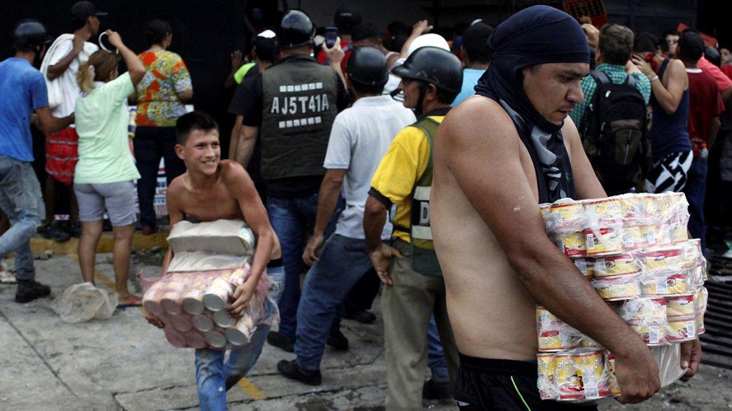 Crise monetária na Venezuela provoca saques e violência