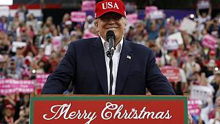 Trump encerra digressão de agradecimento antes da tomada de posse
