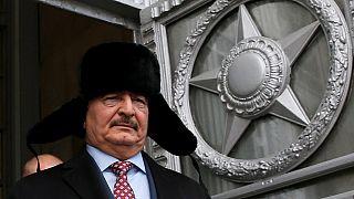 Controversial Libyan General Haftar visits Algeria