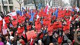 الرئيس البولندي يلتقي قادة الاحزاب لحل الأزمة السياسية في البلاد