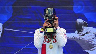 Russia rules the sabre in Cancun