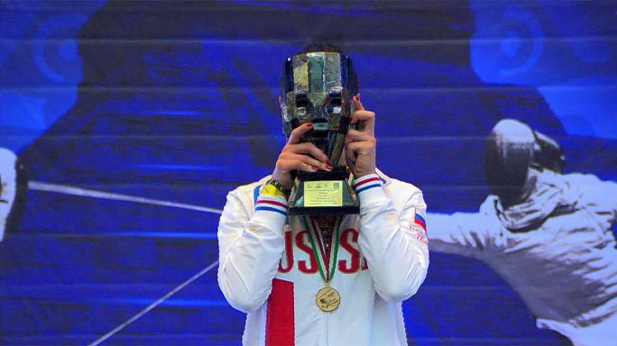 Eskrim Grand Prix'sinde altın madalya Rus Yana Egorian'ın oldu