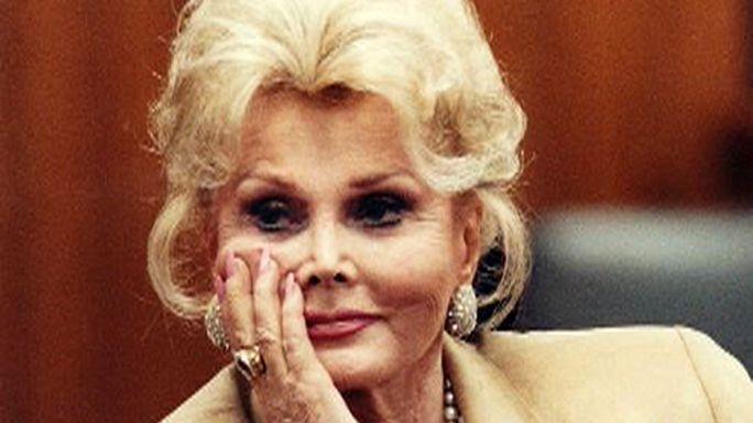 Hollywood actress Zsa Zsa Gabor dies aged 99