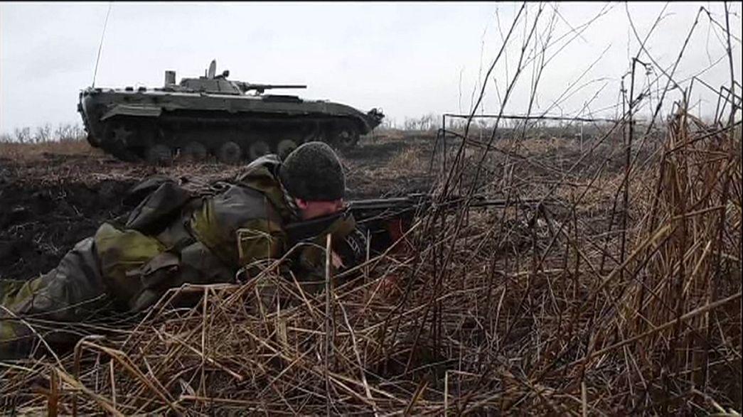 В зоне конфликта в Донбассе обострилась обстановка