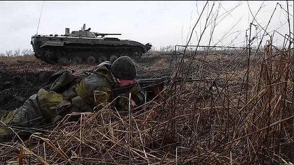 At least five soldiers killed as clashes erupt in east Ukraine