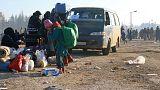 Evacuadas más de 3.000 personas en Alepo, tras una noche en que se quemaron autobuses