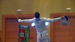 Фехтование, сабля: Моторин - третий на Гран-при в Мексике