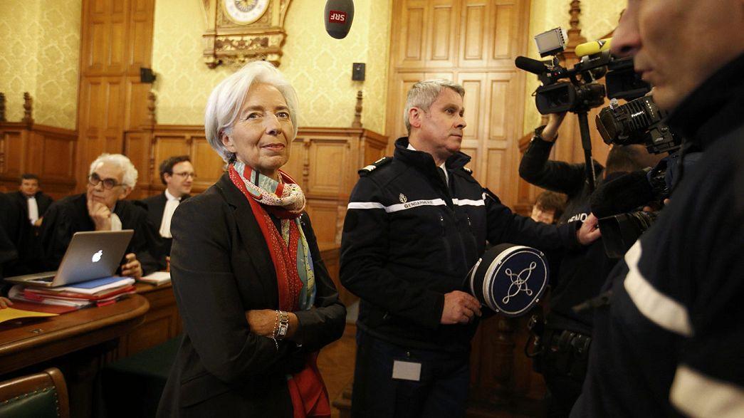 """Christine Lagarde condamnée pour """"négligence"""" dans l'affaire Tapie, et dispensée de peine"""