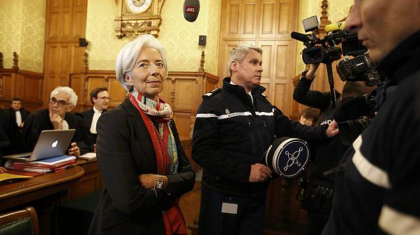 IMF chief Christine Lagarde found guilty over tycoon payout