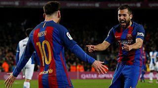 Megint Messi! Varázslat a barcelonai derbin