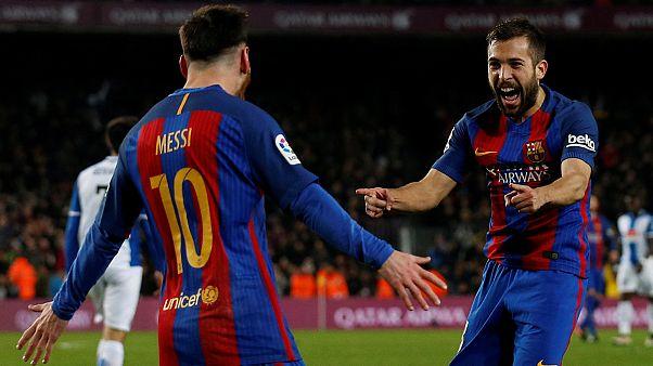 Messi, a estrela do derby catalão