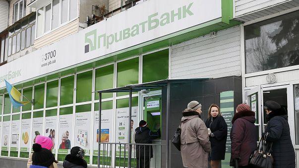 Ουκρανία: Κρατικοποιήθηκε η μεγαλύτερη τράπεζα της χώρας