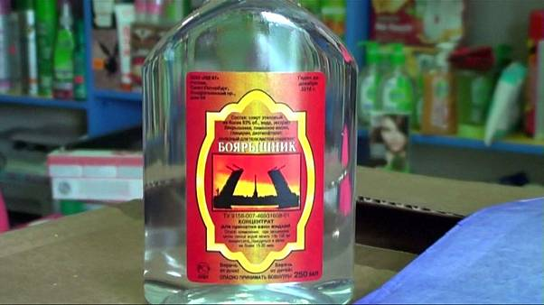 Dozens die of alcohol poisoning in Siberia after drinking bath lotion