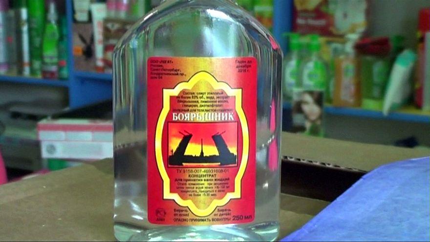Rusya'da kaçak alkol 48 can aldı