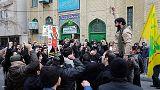 تجمع اعتراضی «غیرقانونی» مقابل کنسولگری ترکیه در مشهد برگزار شد