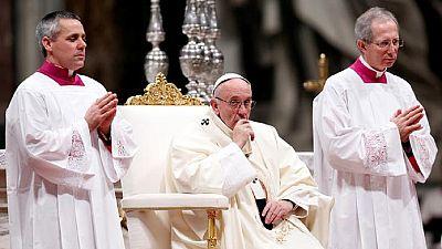 Le pape François prie pour la paix en RDC