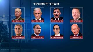 President-elect Donald Trump's cabinet team