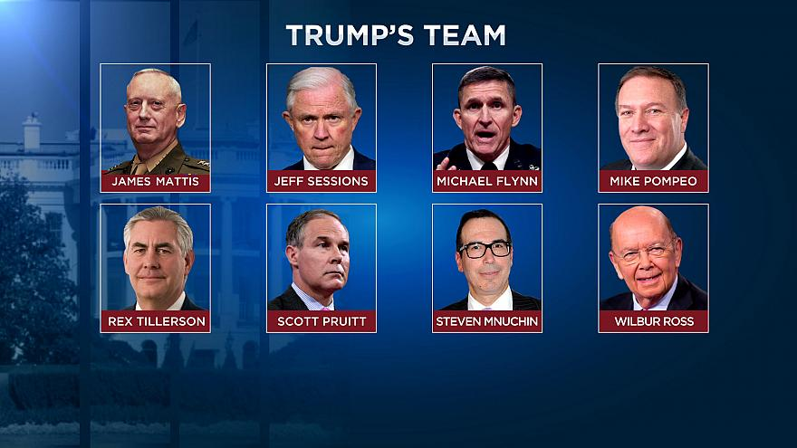 President-elect Donald Trump's cabinet team