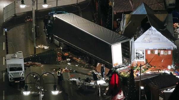 Berlin: police say 'truck deliberately targeted crowds' in deadly crash