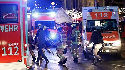 Allemagne : un camion fonce dans un marché de Noël à Berlin, au moins 9 morts