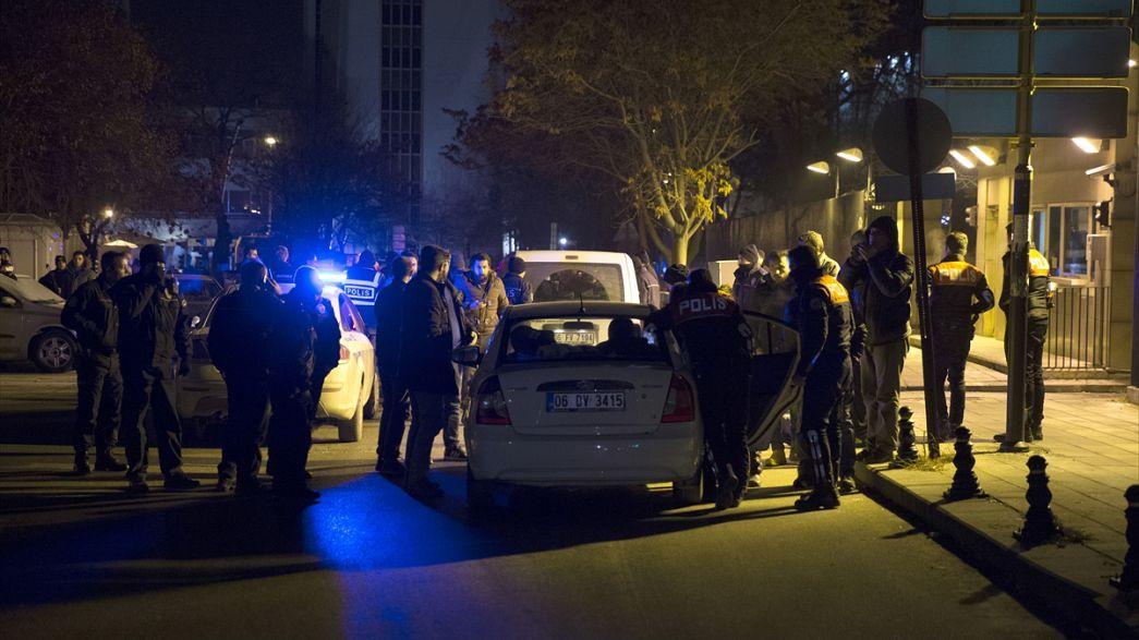 Стрельба у посольства США в Анкаре: подозреваемый задержан