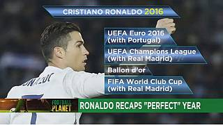 Ronaldo's 'perfect year' capped by Club World Cup win [Football Planet]