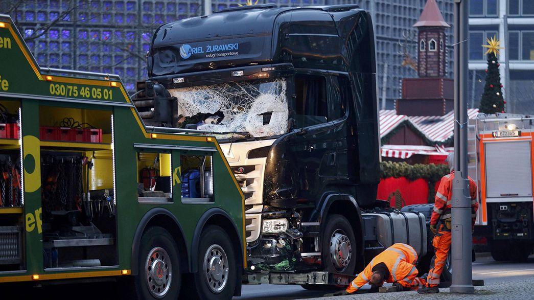 Allemagne : le chauffeur du camion a été tué par balle