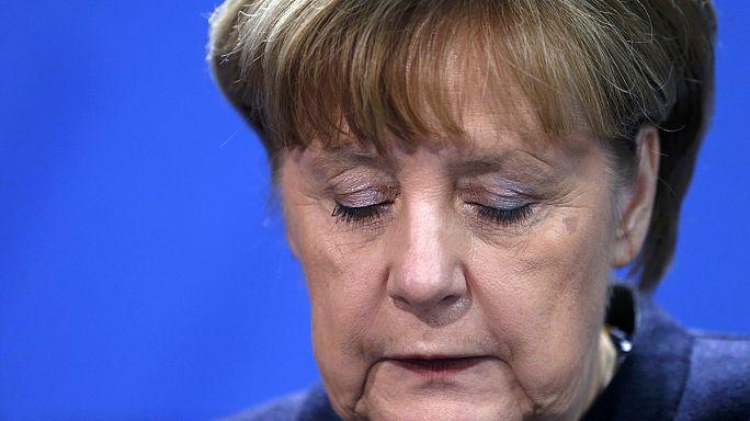 """Merkel: """"Terrortámadás történt Berlinben"""""""