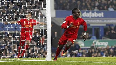 Senegal's 'lucky' Mane scores in extra time as Liverpool beat Everton