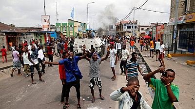 DR Congo: deaths reported as protesters call on Kabila to step down