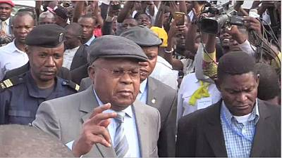 DR Congo: Tshisekedi calls for peaceful resistance against Kabila