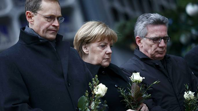 Europe pays tribute to those killed in the Berlin Christmas market attack