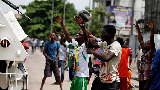 Protesters call for Congo leader Kabila to step down [no comment]