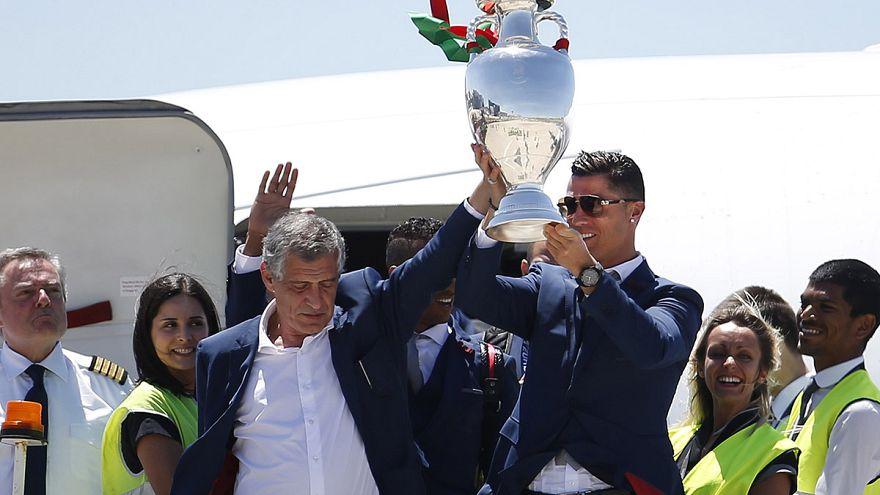 Portekiz Milli Takımı Teknik Direktörü Santos'a Yunanistan'da ödül