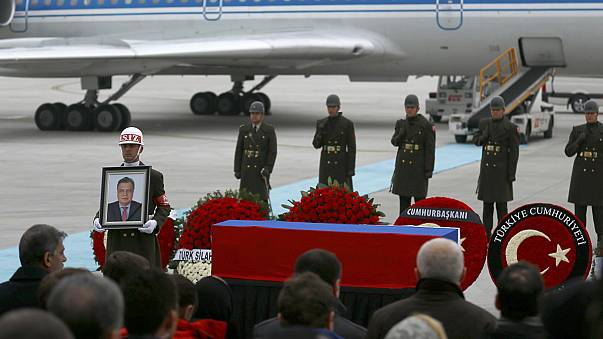 Body of Russia's ambassador to Turkey returns home