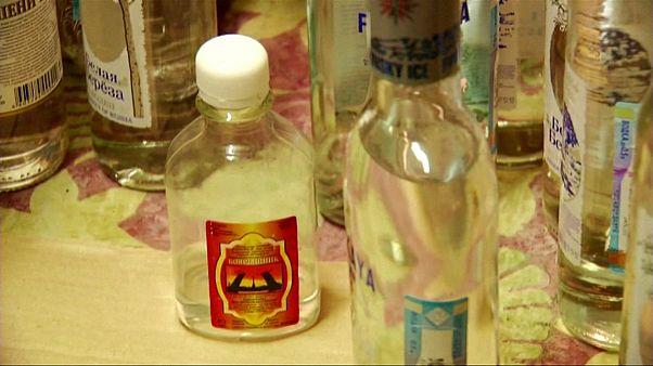 افزایش شمار قربانیان مصرف نوشیدنی الکلی تقلبی در روسیه