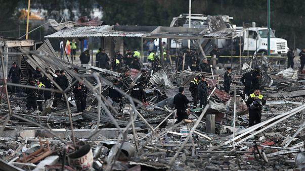 Mexique : explosion sur un marché de feux d'artifice, au moins 31 morts