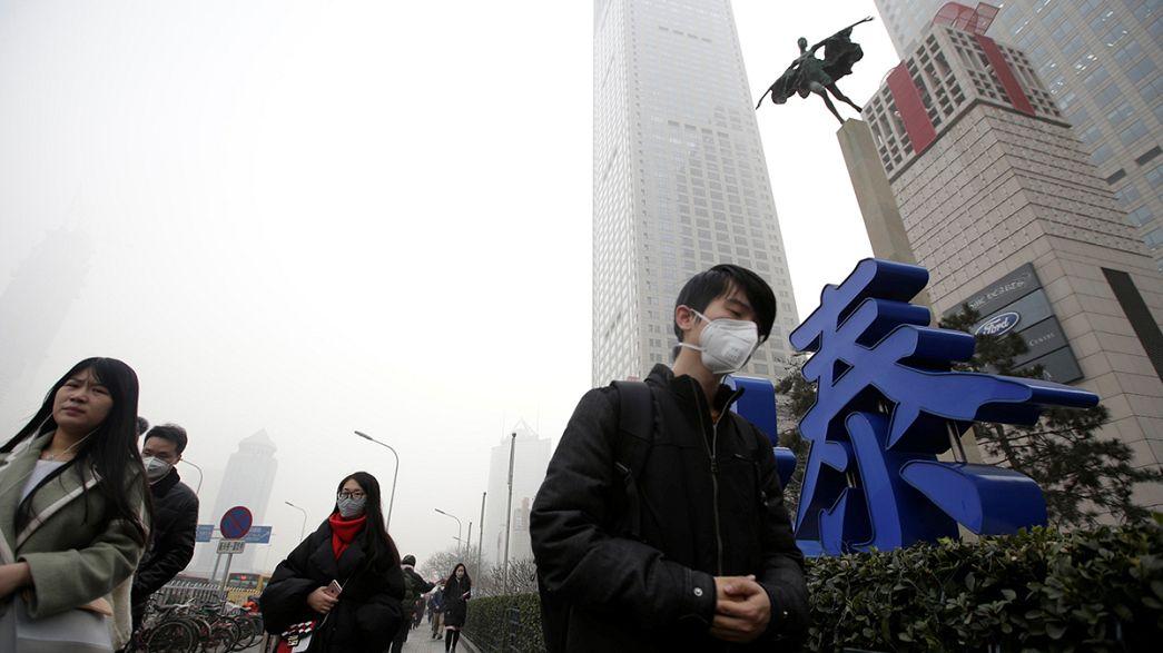 Pollution : le nord de la Chine suffoque toujours