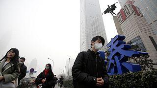 Beijing blanketed in hazardous smog for fifth day