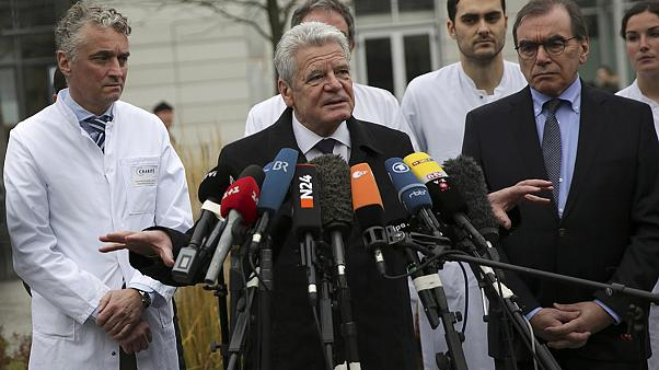 German president visits Berlin attack casualties in hospital