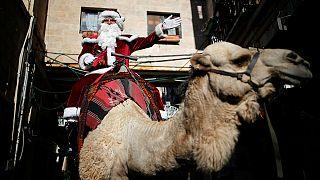Jerusalém inicia festividades natalícias