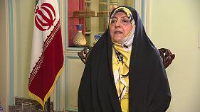 """Ebtekar, vicepresidenta iraní: """"Es necesario que todos respeten el acuerdo nuclear"""""""