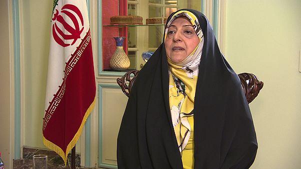 Trump, das Atomabkommen und dicke Luft in Teheran - Irans Vizepräsidentin im Gespräch
