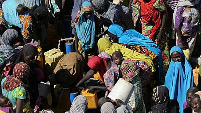 UNHCR chief meets Nigerians displaced by Boko Haram insurgency