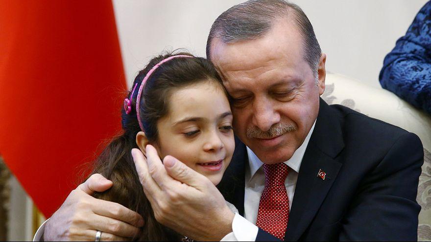 'Syrian Twitter girl 'Bana Alabed meets Turkey's Erdogan