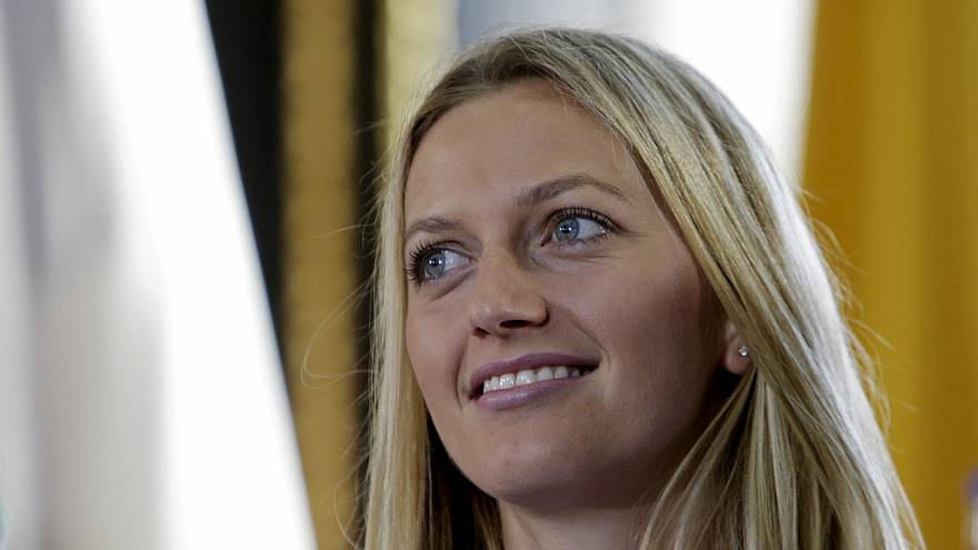 Petra Kvitova estará medio año fuera de las pistas